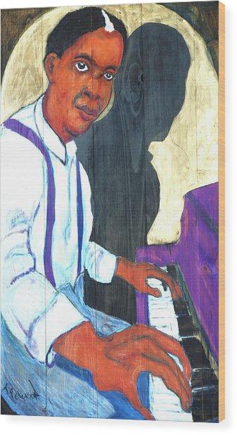 Memphis Slim Wood Print
