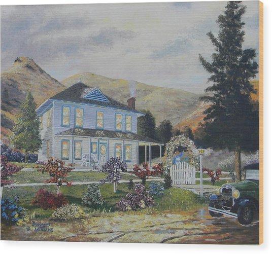 Mentryville Wood Print
