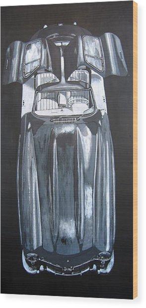 Mercedes Benz Gullwing Wood Print