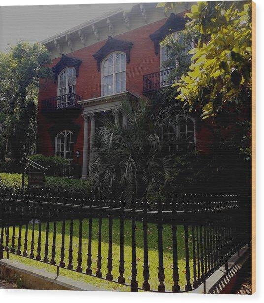Mercer House Wood Print