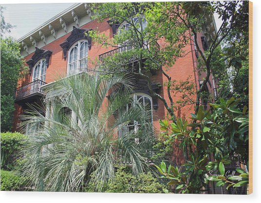 Mercer Williams House-savannah Ga Wood Print