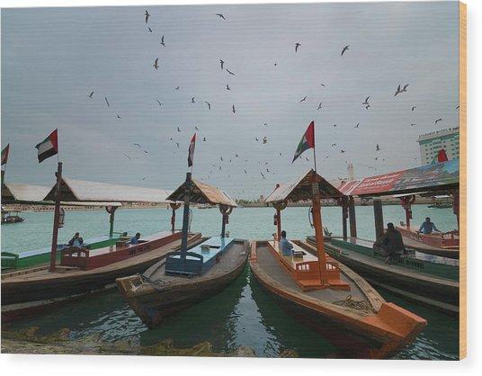 Merchants Of Dubai Wood Print