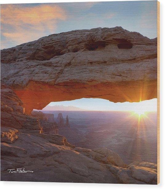 Mesa Arch, Canyonlands, Utah Wood Print