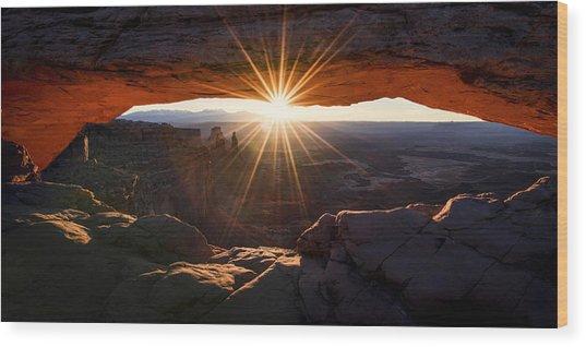 Mesa Glow Wood Print