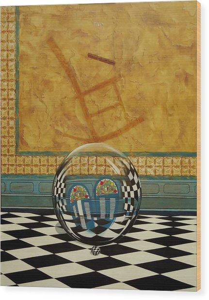 Mesiendonos Eternamente -diptych Left Side- Wood Print
