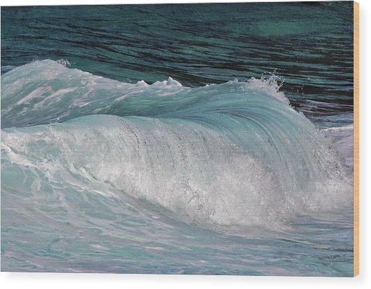 Mesmerizing Wave Wood Print