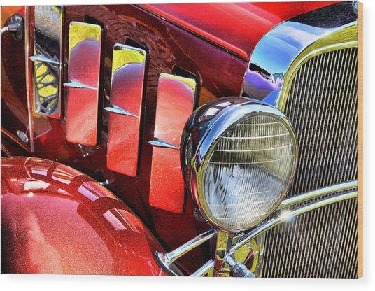 Metallic 1932 Wood Print