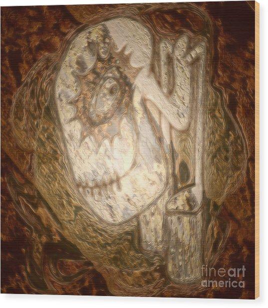 Metallic Ganix Wood Print