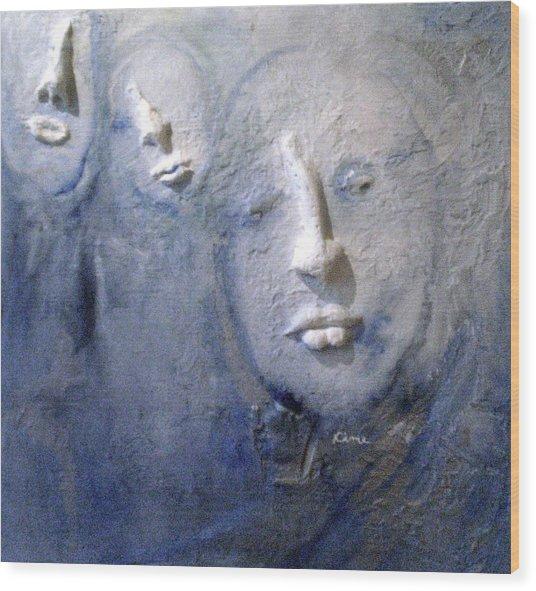 Metamorphosis Wood Print by Kime Einhorn