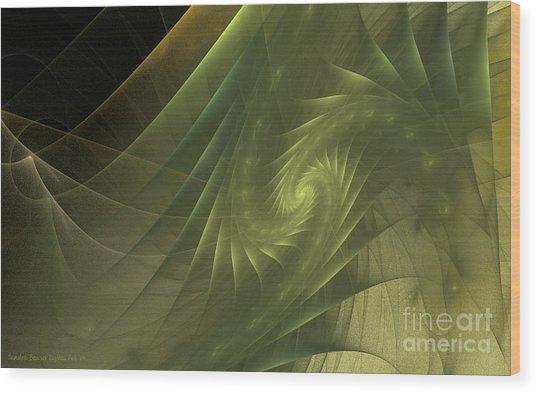 Metamorphosis Wood Print by Sandra Bauser Digital Art