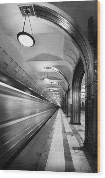 Metro #5147 Wood Print