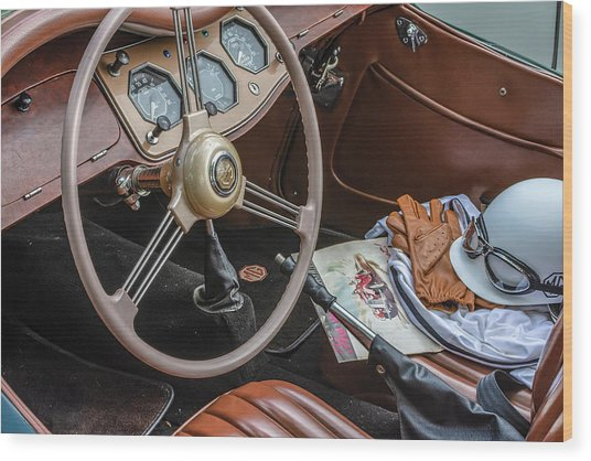 Mg Interior Wood Print