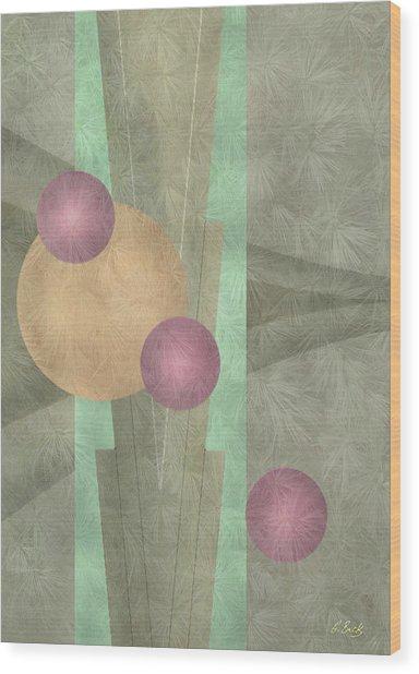 Miami Deco Wood Print by Gordon Beck
