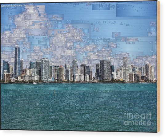Miami, Florida Wood Print