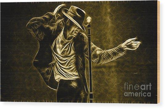Michael Jackson Collection Wood Print