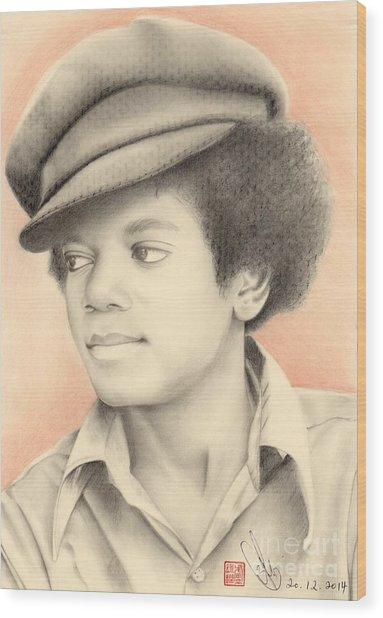 Michael Jackson #eleven Wood Print