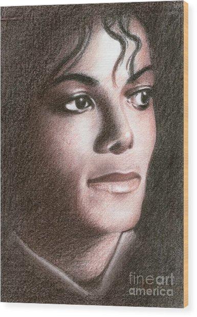 Michael Jackson #fourteen Wood Print