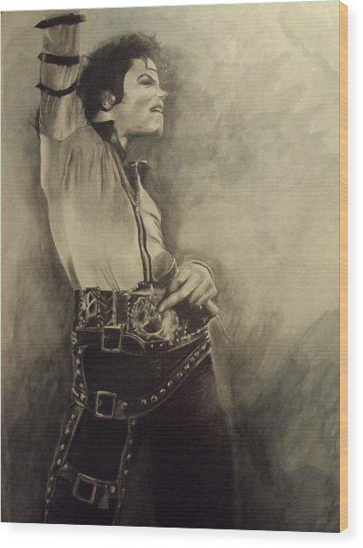 Michael Jackson Painting By Simone Napier