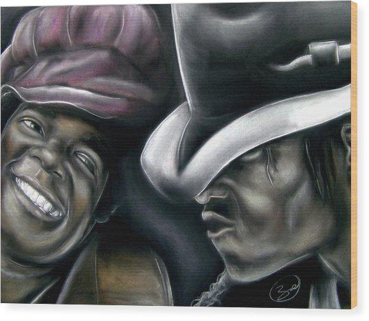 Michael Jackson Wood Print by Zach Zwagil