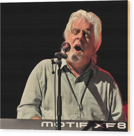 Michael Mcdonald At Tampa Bay Wood Print