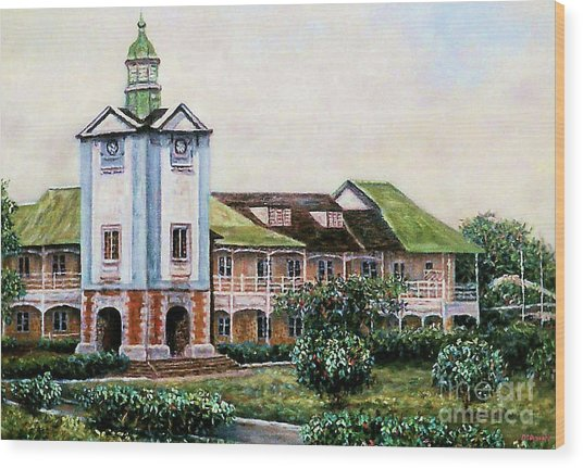 Mico University College Wood Print
