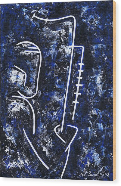 Midnight Jazz With Ben Webster Wood Print by Kamil Swiatek