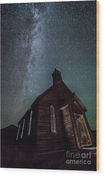Midnight Mass  Wood Print