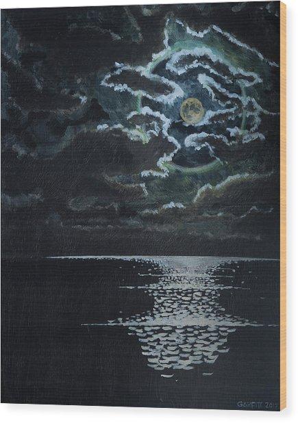 Midnight Passage Wood Print