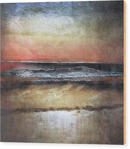 Midnight Sands Gloucester Wood Print