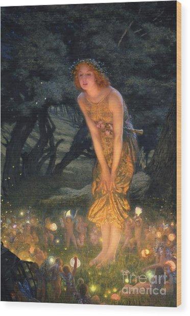 Midsummer Eve Wood Print