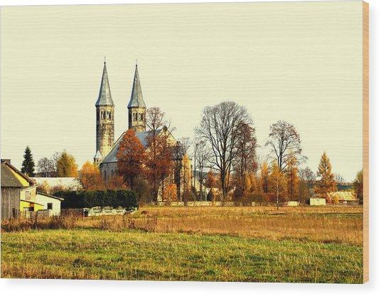 Miedzierza Church Wood Print