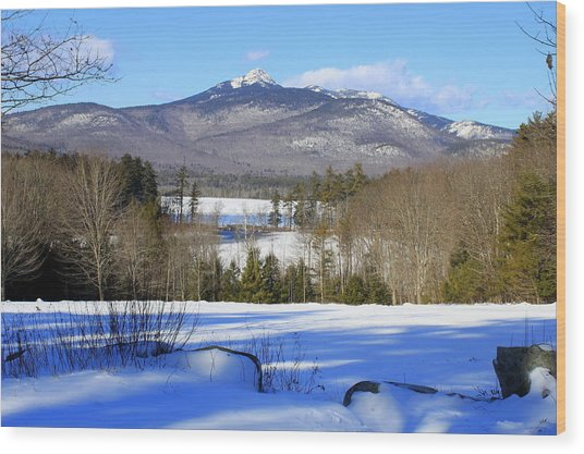 Mighty Mt. Chocorua 2013 Wood Print