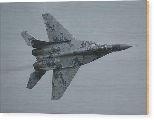Mikoyan-gurevich Mig-29as  Wood Print
