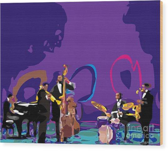 The Miles Davis Quintet Wood Print