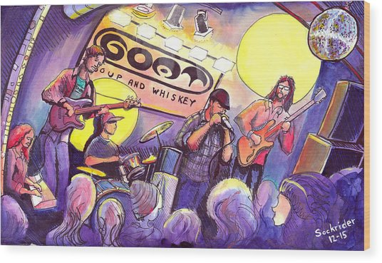 Miles Guzman Band Wood Print