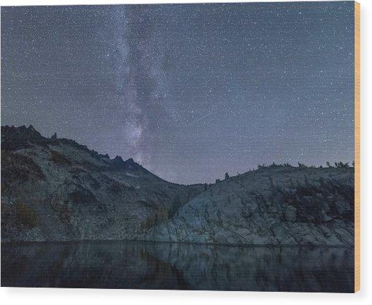 Milky Way At The Enchantments Wood Print