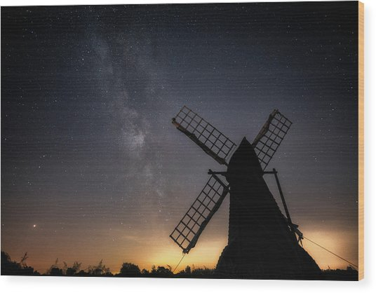 Milky Way At Wicken Wood Print