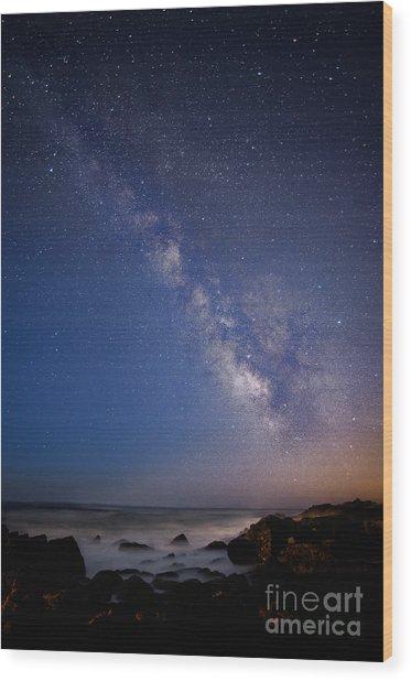 Milky Way Dream 1 Wood Print