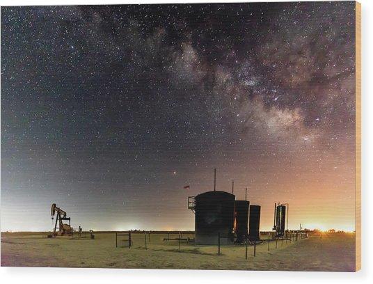 Milky Way Lease Wood Print