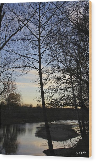 Mill Creek Memories Wood Print