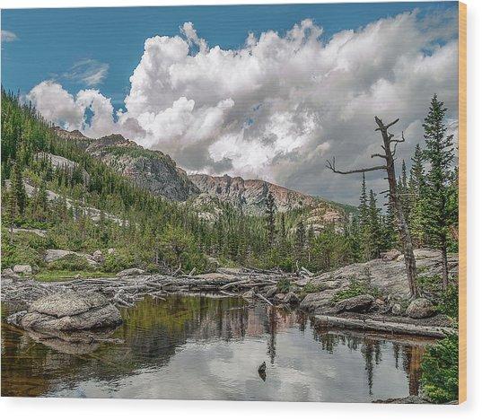 Mills Lake 5 Wood Print