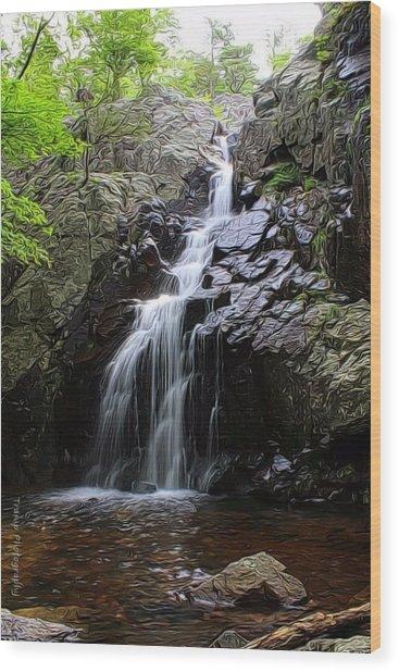 Mina Suak Falls, Mo. Wood Print