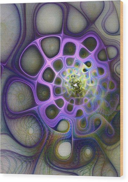 Mindscapes Wood Print