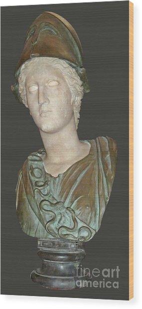 Minerva Wood Print