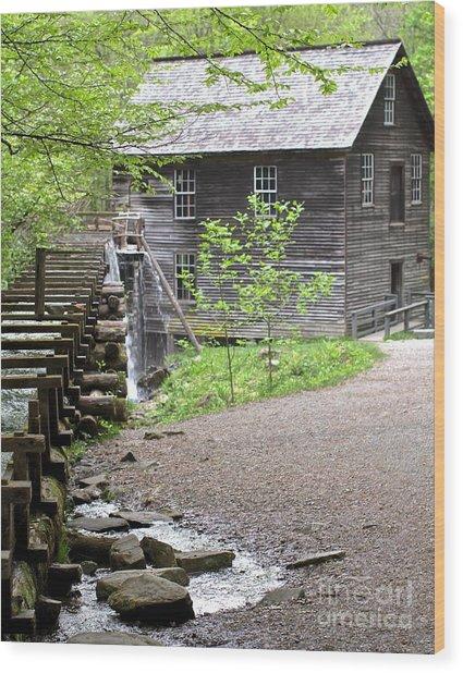 Mingus Mill Memories Wood Print