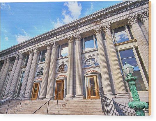 Minneapolis Post Office Building Wood Print