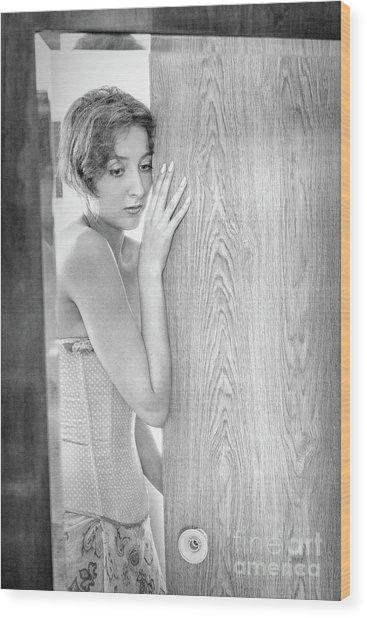 Mirror #6555 Wood Print