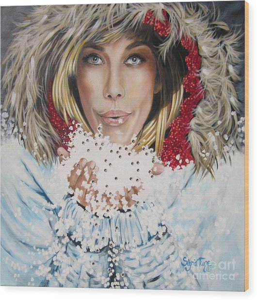 Remarkable Russian Girl.            From The Attitude Girls  Wood Print