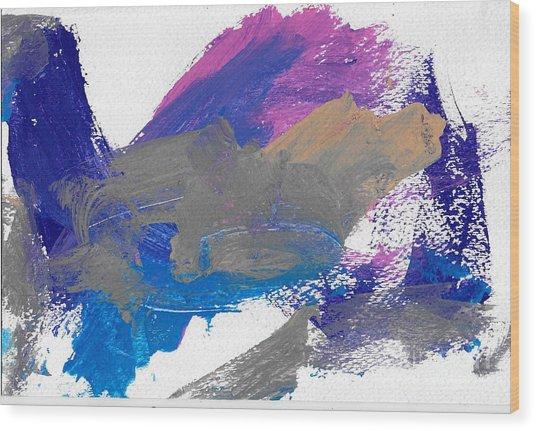 Miss Emma's Abstract Wood Print