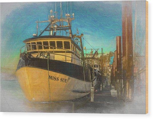 Miss Sue Wood Print